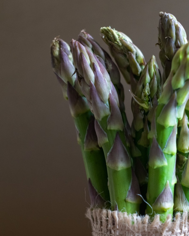 Food Photography Portfolio at ildiva.com - Asparagus close-up