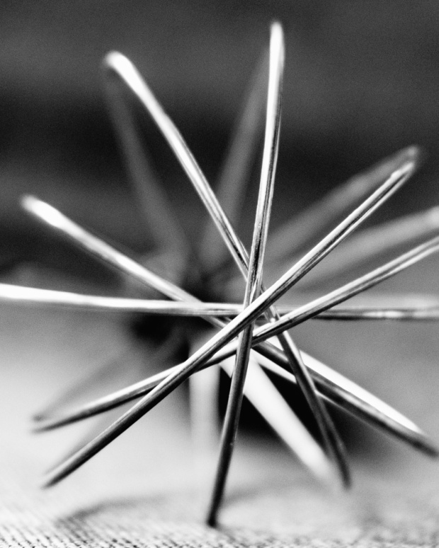 Food Photography Portfolio at ildiva.com - Whisk close-up in black and white